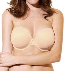 Panache 7320 3370 Plunge Push-Up Strapless