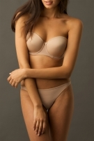 Va Bien 509 Seamless Strapless Underwire - Click Image to Close